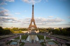 La Torre Eiffel di Parigi fotografia stock