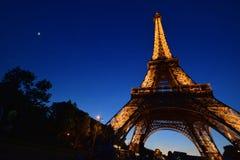 La torre Eiffel, Francia, París Fotografía de archivo