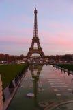 La torre Eiffel hermosa Foto de archivo libre de regalías