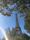 La torre Eiffel mágica imágenes de archivo libres de regalías
