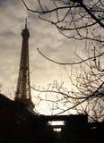 La torre Eiffel - París Fotos de archivo