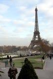 La torre Eiffel - París Fotografía de archivo libre de regalías