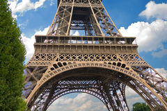 La torre Eiffel, París Imagen de archivo