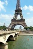 La torre Eiffel, París fotografía de archivo libre de regalías