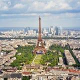 La torre Eiffel, París - Francia Fotografía de archivo