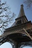 La torre Eiffel París, Francia marzo de 2010 Imagen de archivo