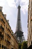 La Torre Eiffel, Parigi Fotografie Stock Libere da Diritti