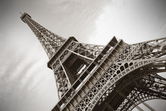 La Torre Eiffel, Parigi Immagine Stock