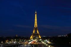 La Torre Eiffel a Parigi Fotografie Stock Libere da Diritti