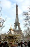 La Torre Eiffel - Parigi Fotografie Stock Libere da Diritti