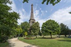La Torre Eiffel a Parigi Immagini Stock Libere da Diritti