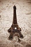 La torre Eiffel a Parigi, Francia Fotografie Stock Libere da Diritti