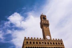 La torre en Florencia foto de archivo libre de regalías