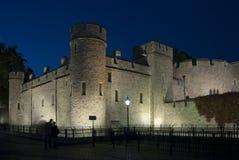 La torre en Londres Foto de archivo libre de regalías
