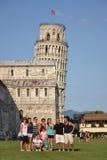 La torre inclinada de Pisa Fotografía de archivo libre de regalías