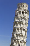 La torre inclinada de Pisa Imágenes de archivo libres de regalías
