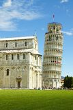 La torre inclinada de Pisa, Italia fotos de archivo libres de regalías