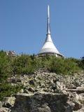 La torre Liberec bromeó Imágenes de archivo libres de regalías
