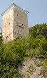 La torre negra de Brasov, Rumania Foto de archivo