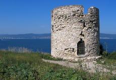 La torre nessebar Foto de archivo libre de regalías