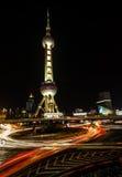 La torre oriental de la perla Fotos de archivo
