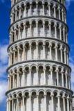 La torre pendente di Pisa (dettaglio) Fotografie Stock Libere da Diritti