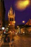 la torre a Praga Immagini Stock