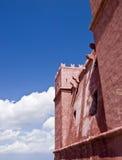 La torre roja imágenes de archivo libres de regalías