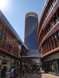 La Torre Sevilha da alameda imagem de stock royalty free