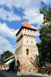 La torre Sibiu dei vasai Fotografia Stock