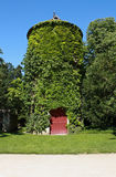 La torre verde del castillo de Chenonceau foto de archivo