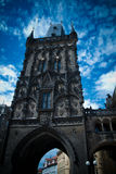 La torretta della polvere a Praga Immagini Stock Libere da Diritti