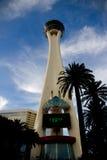 La torretta della stratosfera a Las Vegas Fotografia Stock Libera da Diritti