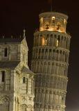 La torretta di inclinzione di Pisa Immagini Stock