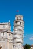 La torretta di inclinzione di Pisa Immagine Stock Libera da Diritti