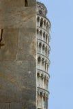 La torretta di inclinzione di Pisa, Italia fotografia stock