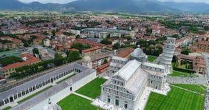 La torretta di inclinzione di Pisa archivi video