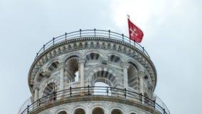 La torretta di inclinzione di Pisa in Italia Fotografie Stock Libere da Diritti