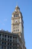La torretta di orologio Fotografia Stock