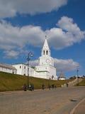 La torretta principale di Kazan Kremlin Fotografia Stock Libera da Diritti