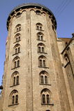 La torretta rotonda. Copenhaghen, Danimarca Fotografia Stock Libera da Diritti