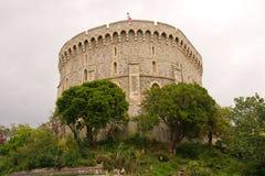 La torretta rotonda del castello di Windsor Immagini Stock Libere da Diritti
