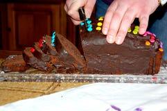 La torta Fotografie Stock Libere da Diritti