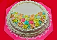 La torta Immagini Stock Libere da Diritti