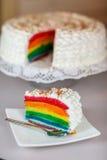La torta Imagen de archivo libre de regalías