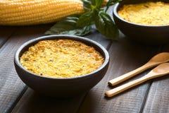 La torta cilena del cereale ha chiamato Pastel de Choclo Fotografie Stock Libere da Diritti