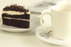 La torta de chocolate imagen de archivo