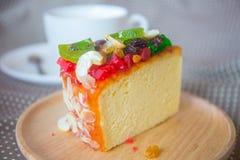 La torta de la fruta Fotos de archivo libres de regalías