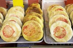 La torta del chino tradicional Foto de archivo libre de regalías