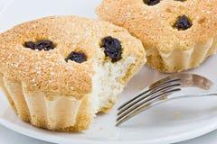 La torta deliciosa de la taza Imagen de archivo libre de regalías